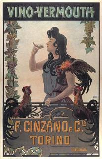 poster cinzano